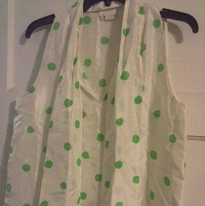 Kate Spade shirt sleeve shirt size 8